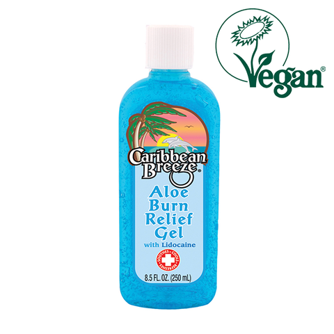 Caribbean Breeze After Sun Aloe Burn Relief Gel With Lidocaine 250ml