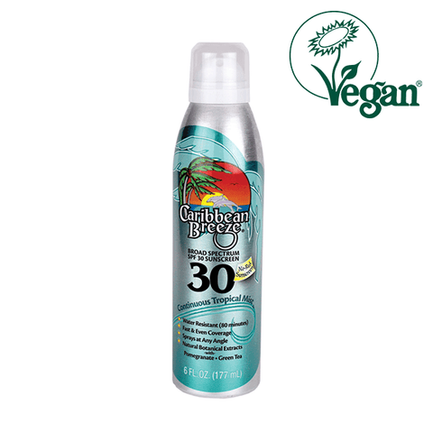 Caribbean Breeze SPF 30 Continuous Tropical Mist Sunscreen in UK
