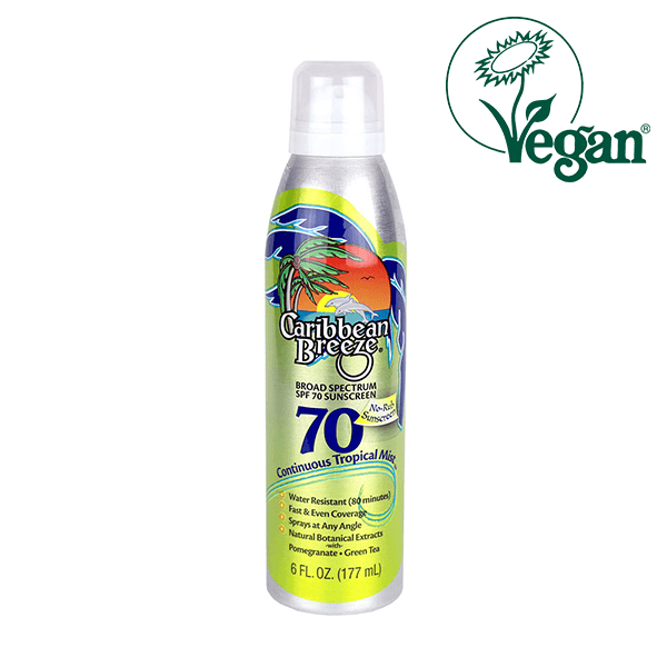 Caribbean Breeze SPF 70 Continuous Tropical Mist Sunscreen in UK