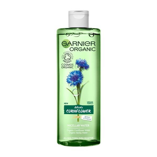 Garnier Organic Cornflower Micellar Water 400ml in UK