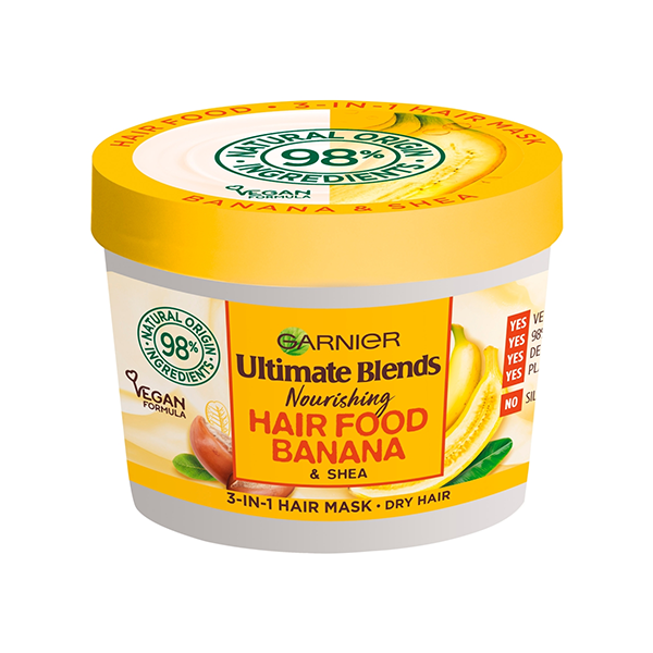 Garnier Ultimate Blends Hair Food Banana 3 in 1 Mask 390ml in UK