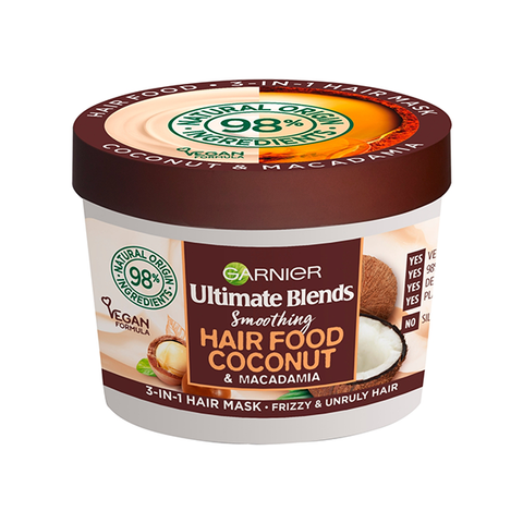 Garnier Ultimate Blends Hair Food Coconut 3 in 1 Mask 390ml in UK