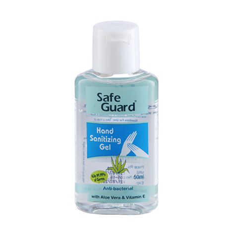 Safe Guard Anti-bacterial Hand Sanitizing Gel 50ml in UK