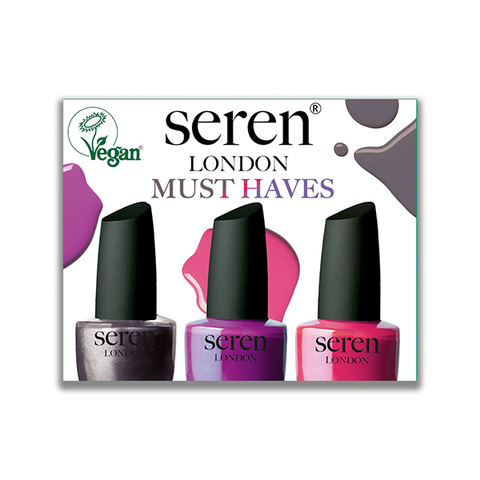 Seren London Must Haves Nail Polish Gift Set in UK