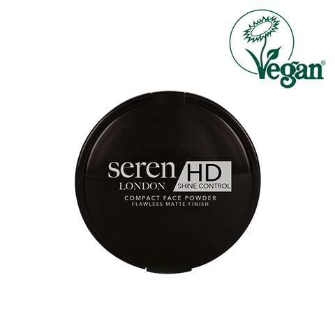 Seren London Vegan HD Shine Control Compact Face Powder