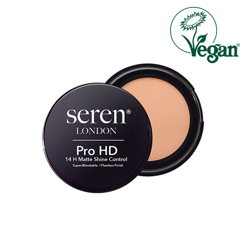 Seren London Vegan Pro HD 14 H Matte Shine Control Face Powder in UK