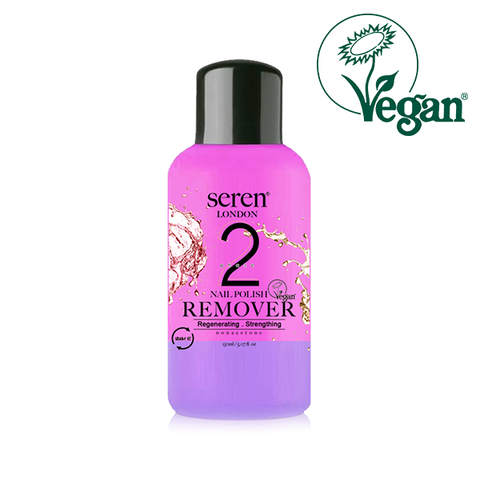 Seren London Vegan Regenerating & Strengthing Acetone Free Nail Polish Remover 150ml in UK