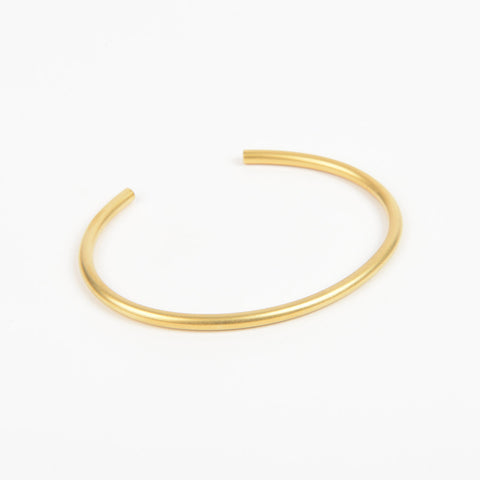 Béton Rod Bangle Gold
