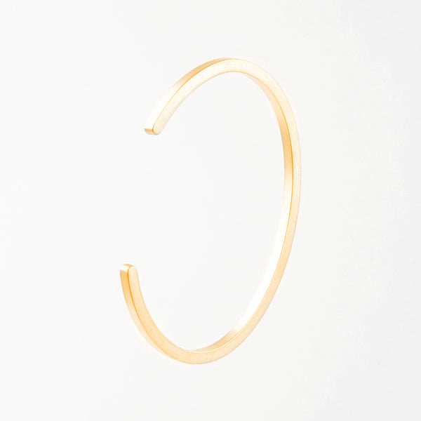 Béton Bar Bangle Gold