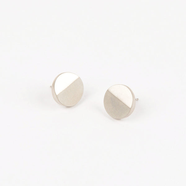 Béton Disc Earrings