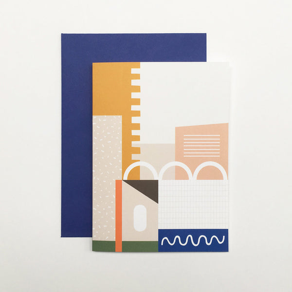 Barbican Surface Card Blue