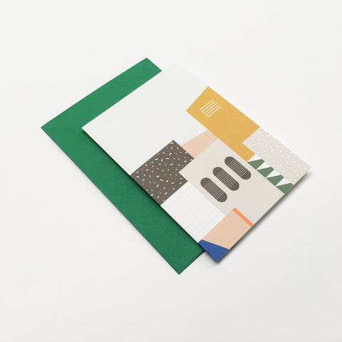 Barbican Surface Card Green