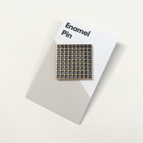 Barbican Surface Pin Black