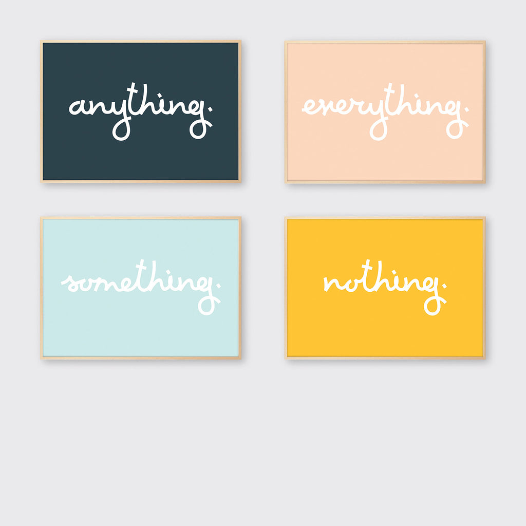 'Thing' Set of 4
