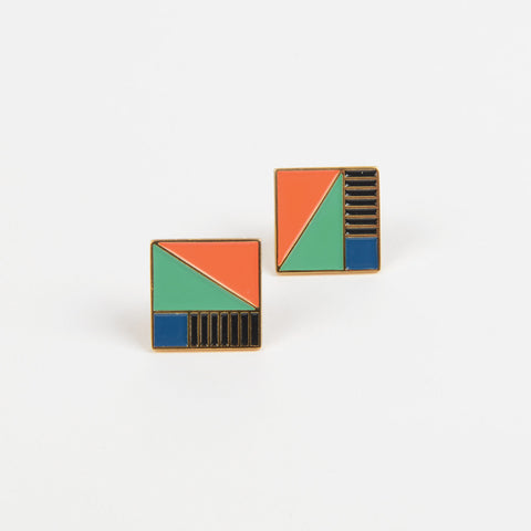 Tate Picasso Square Earrings
