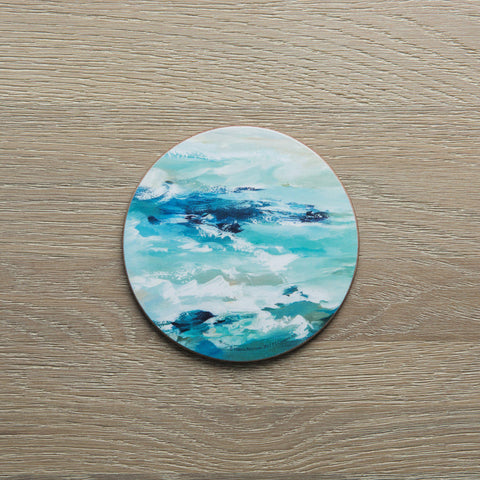 Set of 4 Modern Ocean Coasters-Distinctly Living