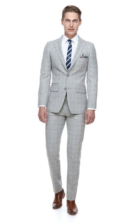 Kayden Grey Slim Fit Suit