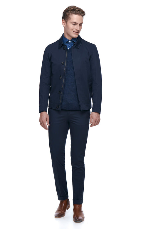 Deon Navy Jacket