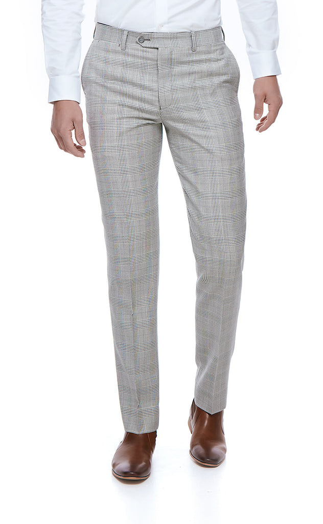 Camden Grey Slim Fit Suit Trousers