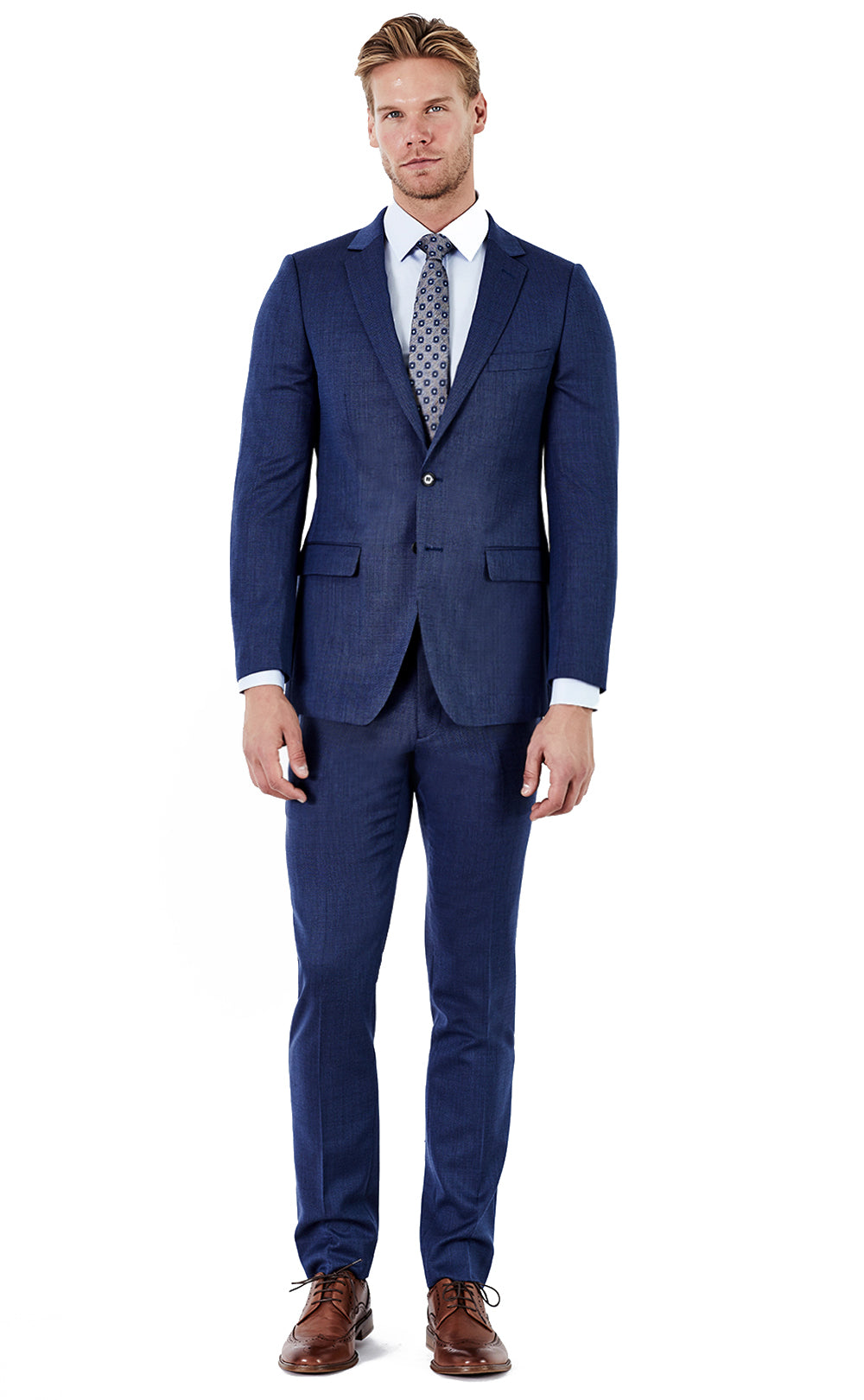 Miguel Blue Suit
