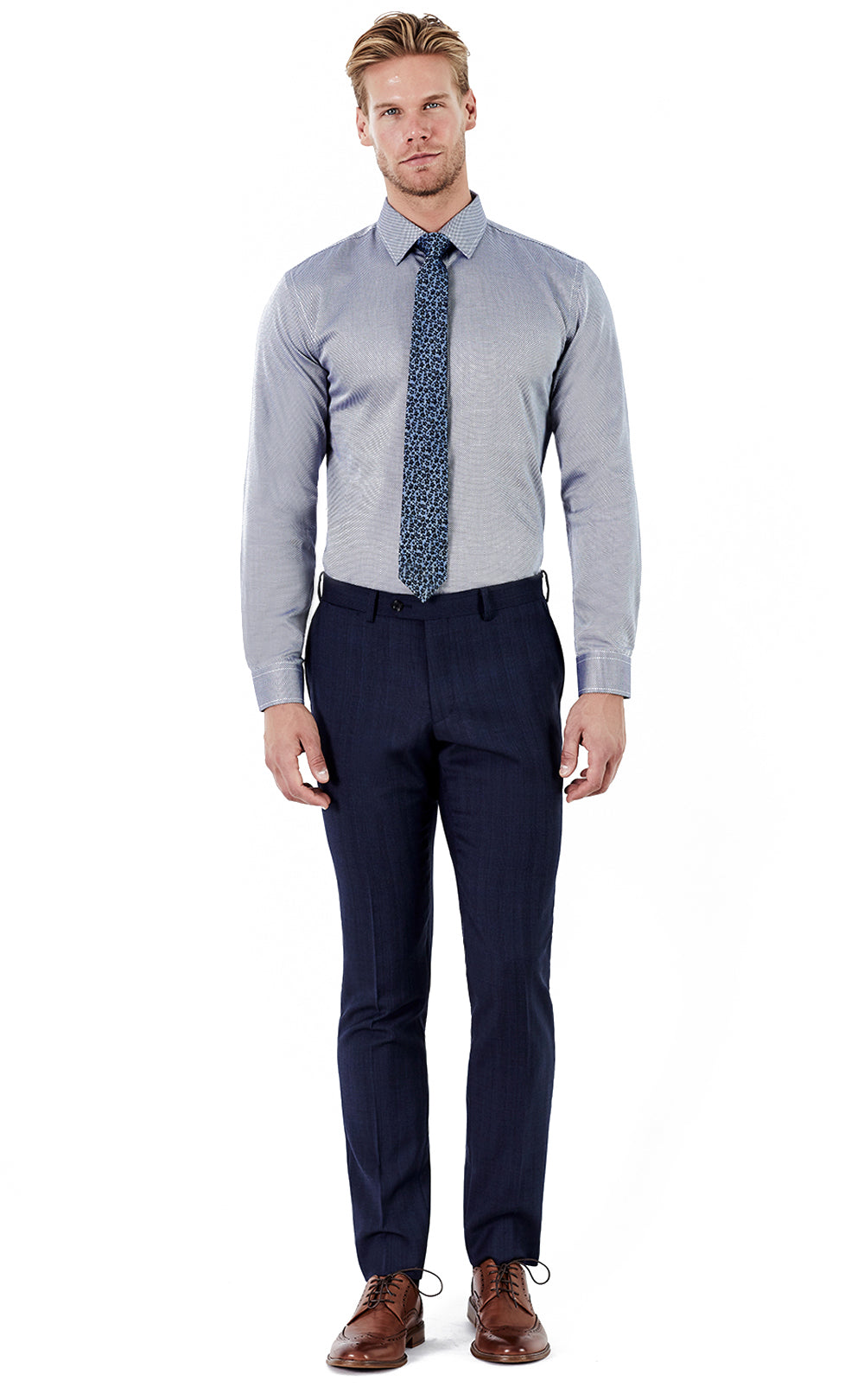 Beau Navy Trousers