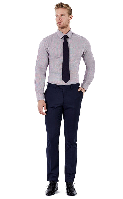 Dean Navy Trousers