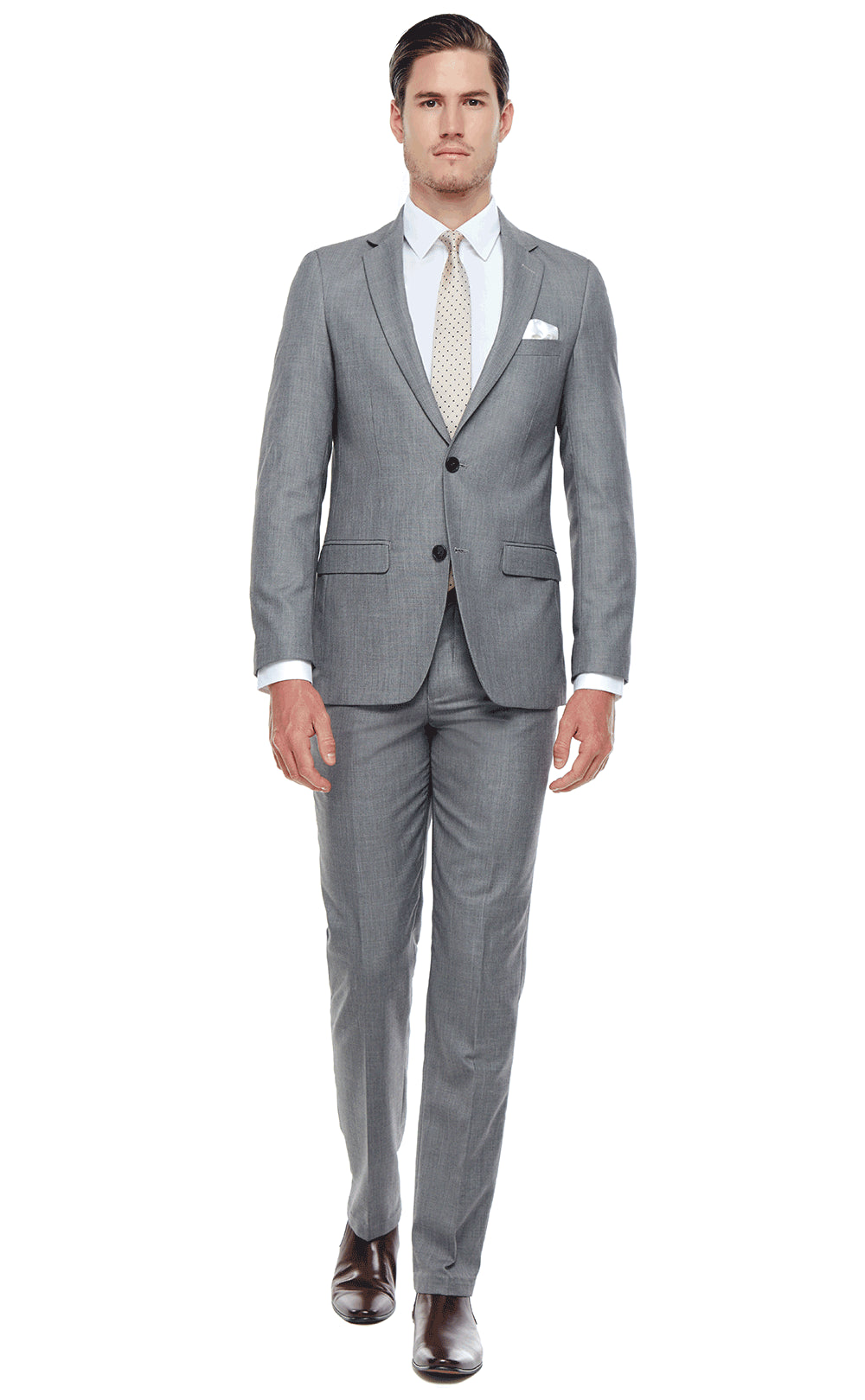 Clinton Suit Grey
