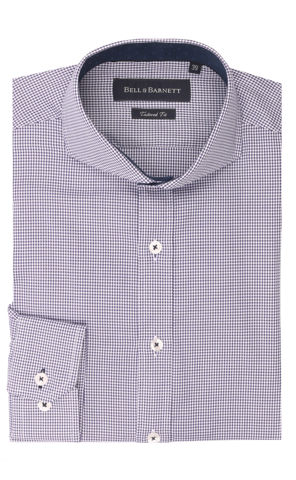 Eli Navy Cotton Shirt