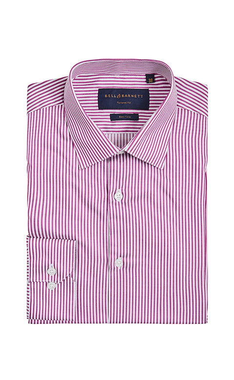 Amari Purple Stripe Shirt