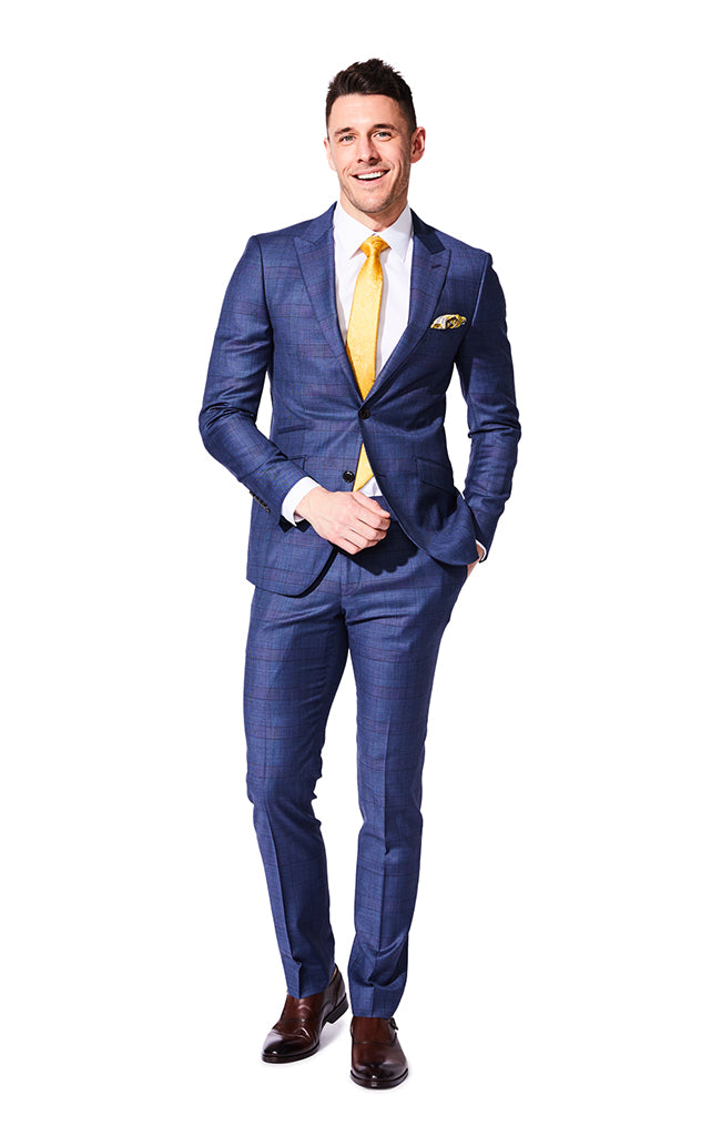 Ayrton Navy Suit