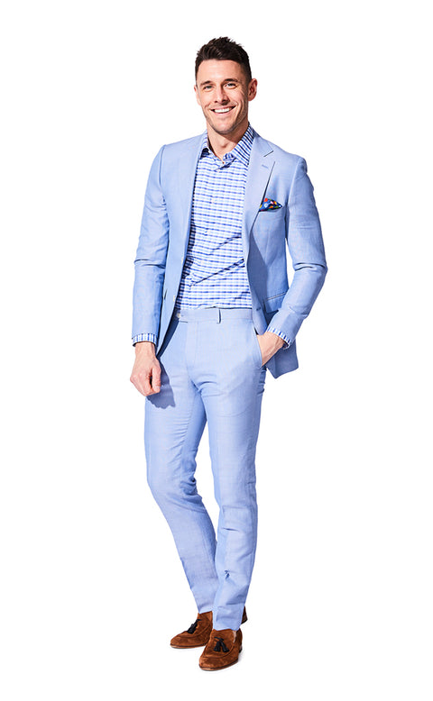 Chance Blue Suit