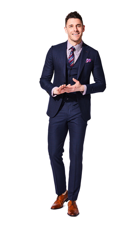 Weston Navy Suit
