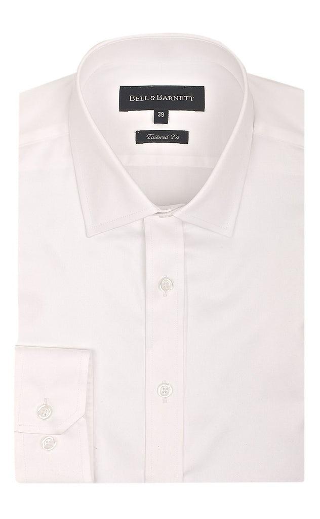 Bradley Ivory Classic Fit Cotton Shirt