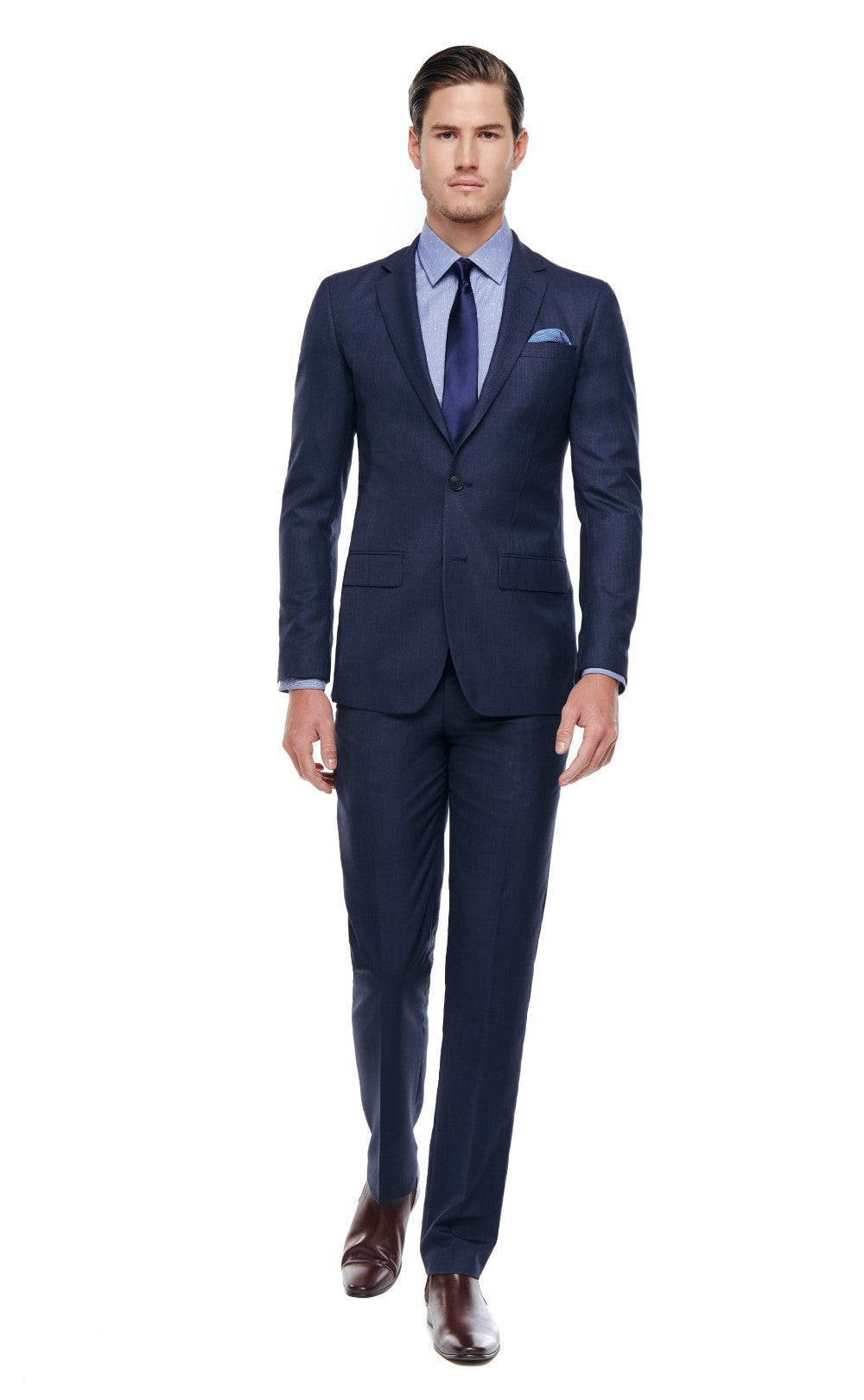 Collin Slim Fit Suit Navy