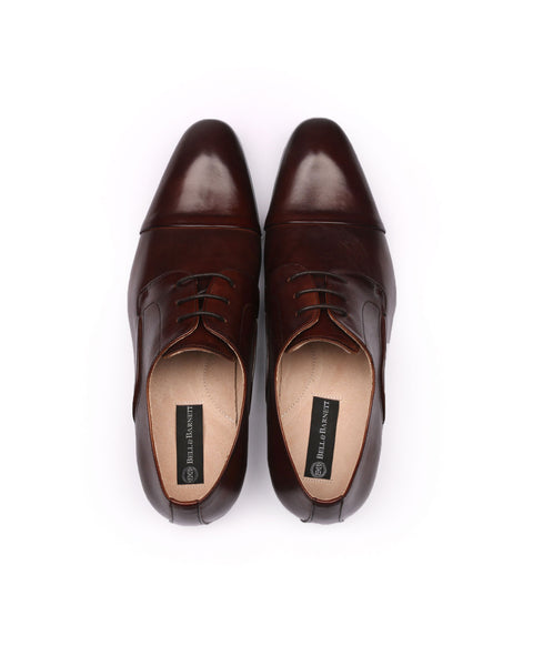 Rome Coffee Leather Shoes