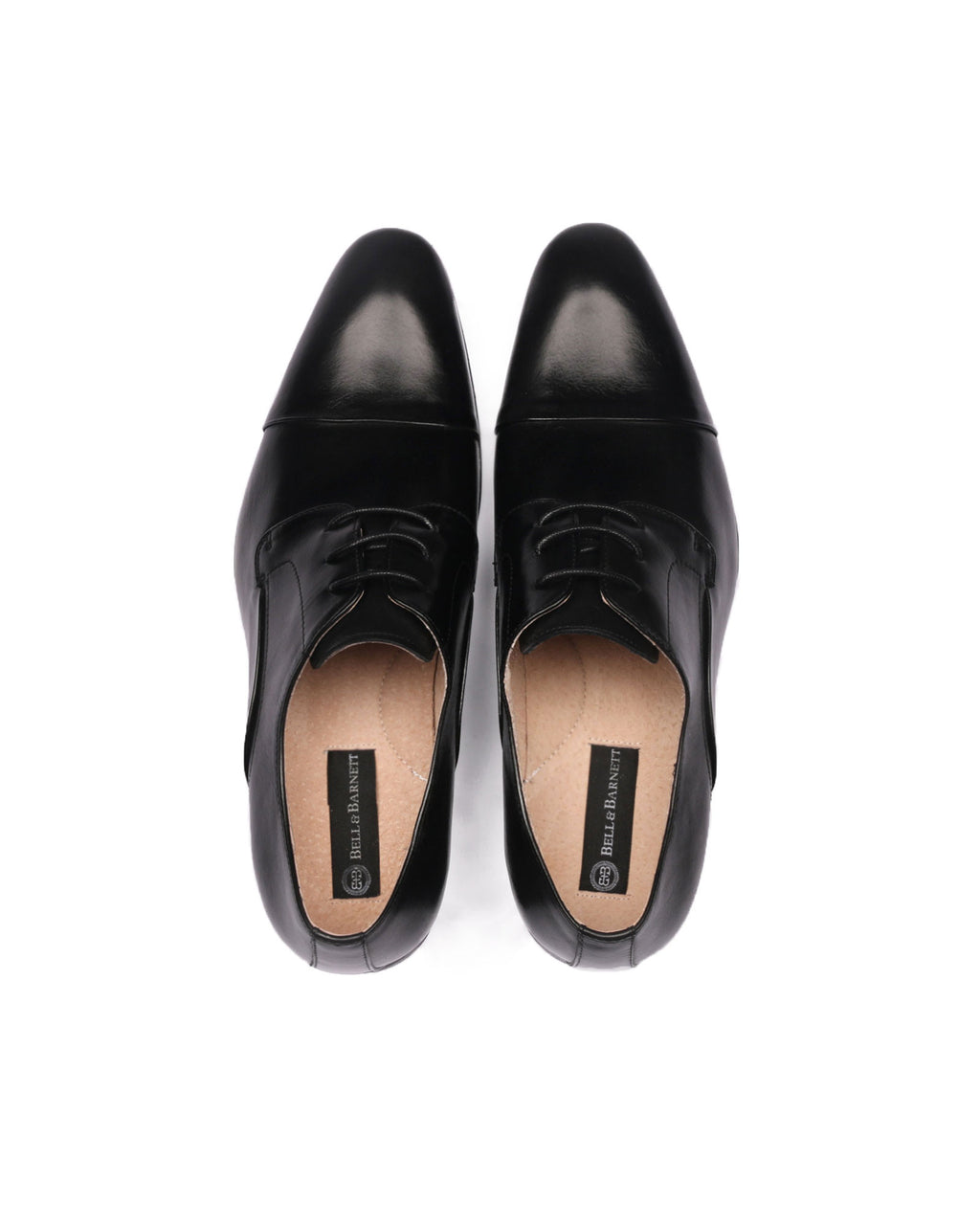 Rome Black Leather Shoes