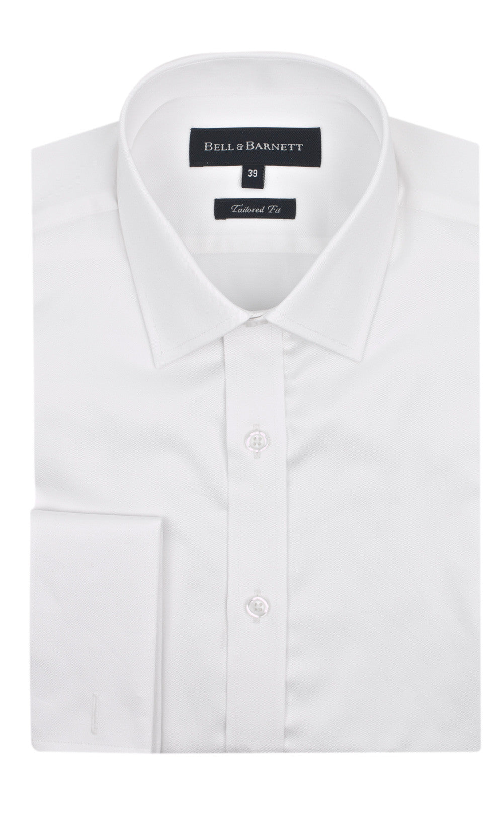 Duke Ivory French Cuff Formal Shirt - front.