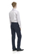 Men's navy business pants - rear.