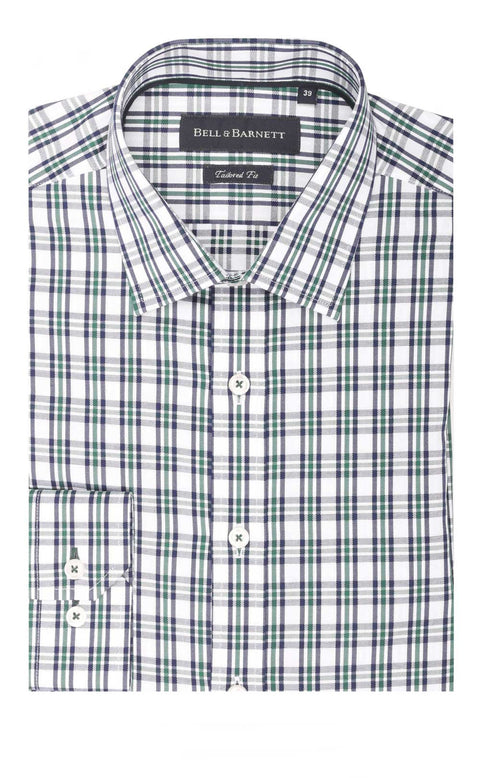 Carter Green Check Cotton Shirt