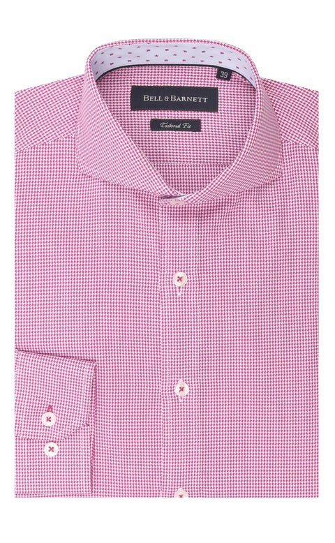Eli Cherry Cotton Shirt