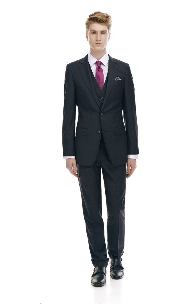 Maurice Charcoal Slim Fit Suit