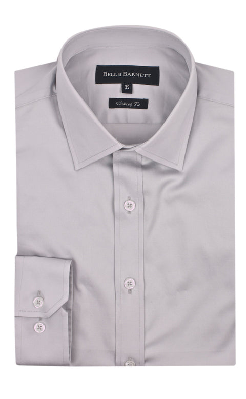 Christian Silver Men's Business Shirt - front.