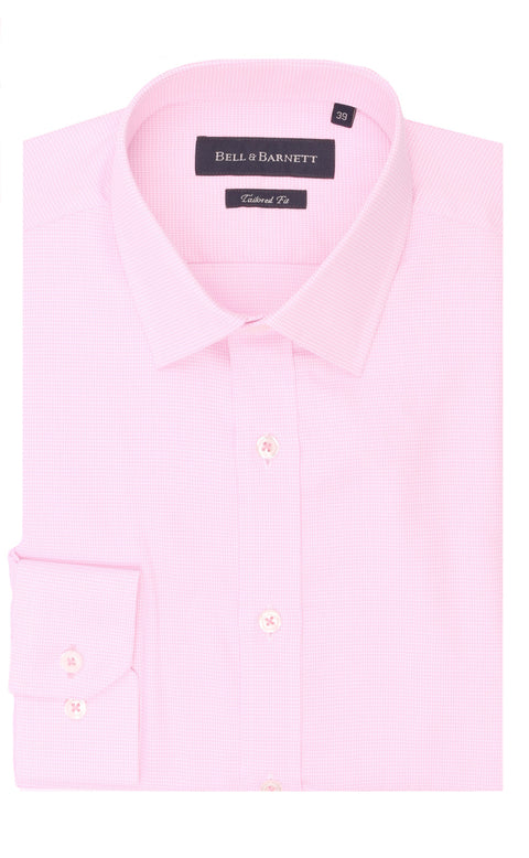 Ayden Pink Cotton Shirt