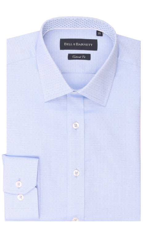 Colton Blue Cotton Shirt