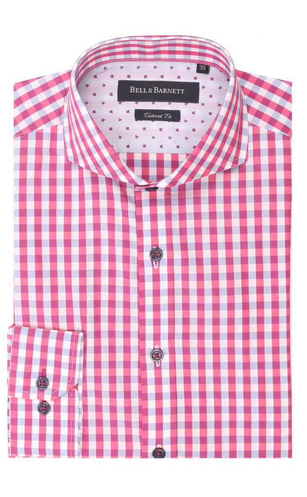 Wyatt Check Cotton Shirt
