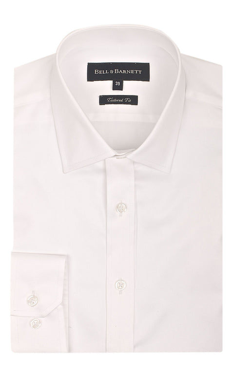 Bradley Ivory Men's Cotton Shirt - front.