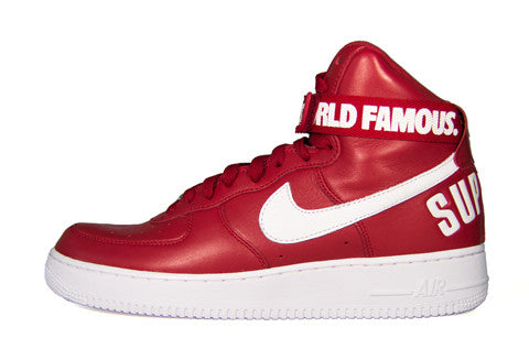 Nike Air Force 1 High x Supreme