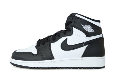 Air Jordan 1 Hi OG Black White GS