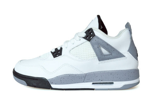 Air Jordan 4 GS White Cement 2012
