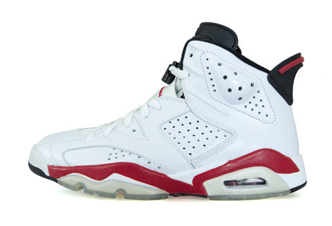 Air Jordan 6 White Varsity Red Bulls